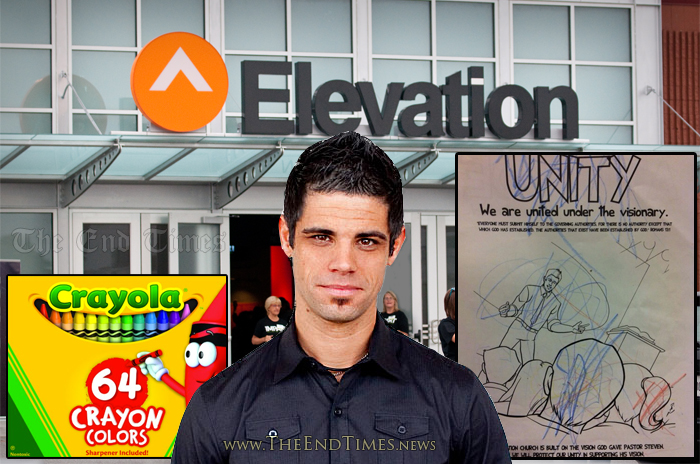 "Elevation Church Releases ""Cult Of Steven Furtick"" Coloring Book For ..."