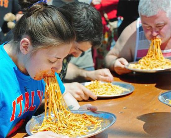 Spaghetti Pigout