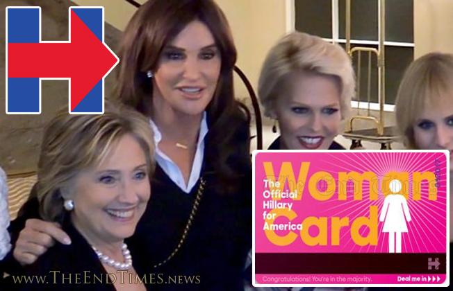 HillaryWomanCard