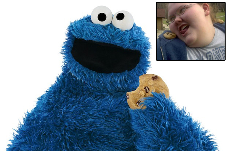 CookieMonsterSelfIdentifiesAsCookieCravingMan