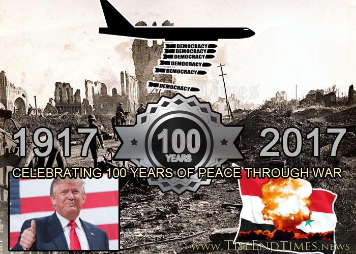 100YearsOfPeaceThroughWar